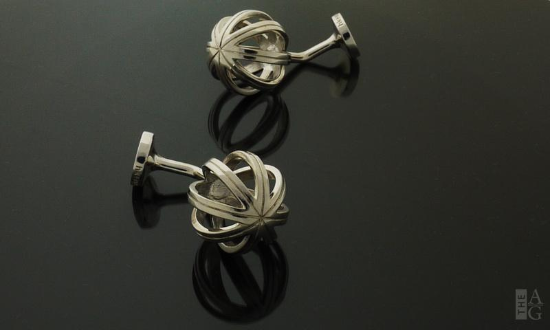 Finely-crafted Sterling Silver Q Series Cufflinks by HK + NP Studio at The Avenue Gallery, a contemporary fine art gallery in Victoria, British Columbia, Canada.