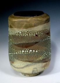 Ceramic Large Rock Vase by Sandra Dolph at The Avenue Gallery, a contemporary fine art gallery in Victoria, British Columbia, Canada.