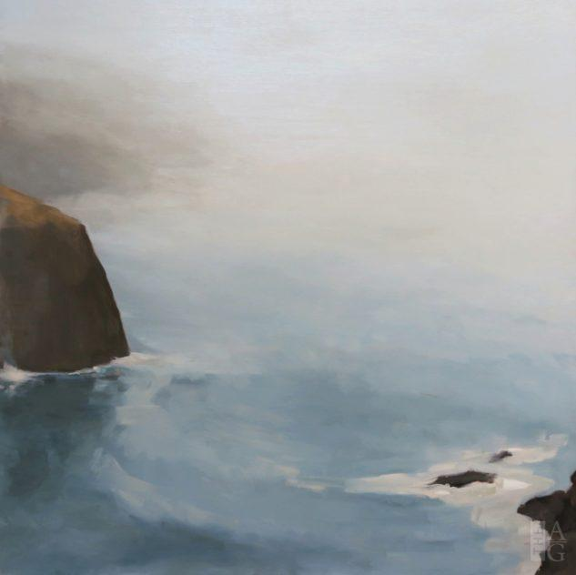 Landscape painting Endless Coast by Maria Josenhans at The Avenue Gallery, a contemporary fine art gallery in Victoria, BC.