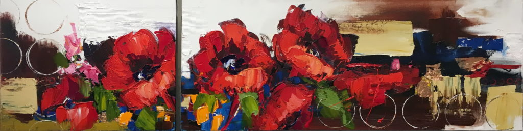 Of A Botanical Nature by Kimberly Kiel at The Avenue Gallery, a contemporary fine art gallery in Victoria, BC, Canada.