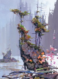 Along the Pacific Trail by Bi Yuan Cheng at The Avenue Gallery, a contemporary fine art gallery in Victoria, BC, Canada.