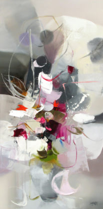 Snow of April by Shinah Lee at The Avenue Gallery, a contemporary fine art gallery in Victoria, BC, Canada.