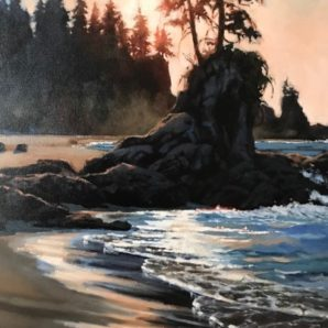 Available Light by Gaye Adams at The Avenue Gallery, a contemporary fine art gallery in Victoria, BC, Canada.