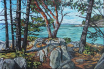 Eagle Point by Mary-Jean Butler at The Avenue Gallery, a contemporary fine art gallery in Victoria, BC, Canada.