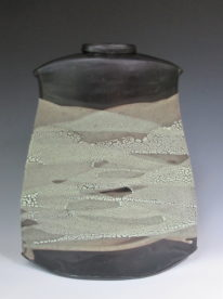 Medium Soft Geo Vase by Sandra Dolph at The Avenue Gallery, a contemporary fine art gallery in Victoria, BC, Canada.