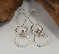 Unison Earrings by Linda Freedman Katz at The Avenue Gallery, a contemporary fine art gallery in Victoria, BC, Canada.