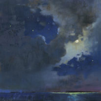 """Moondance - Van Morrison"" by Brent Lynch at The Avenue Gallery, a contemporary fine art gallery in Victoria, BC, Canada."