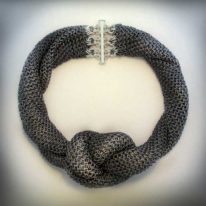Timorphic Neckpiece by Anne Kelly at The Avenue Gallery, a contemporary fine art gallery in Victoria, BC, Canada.