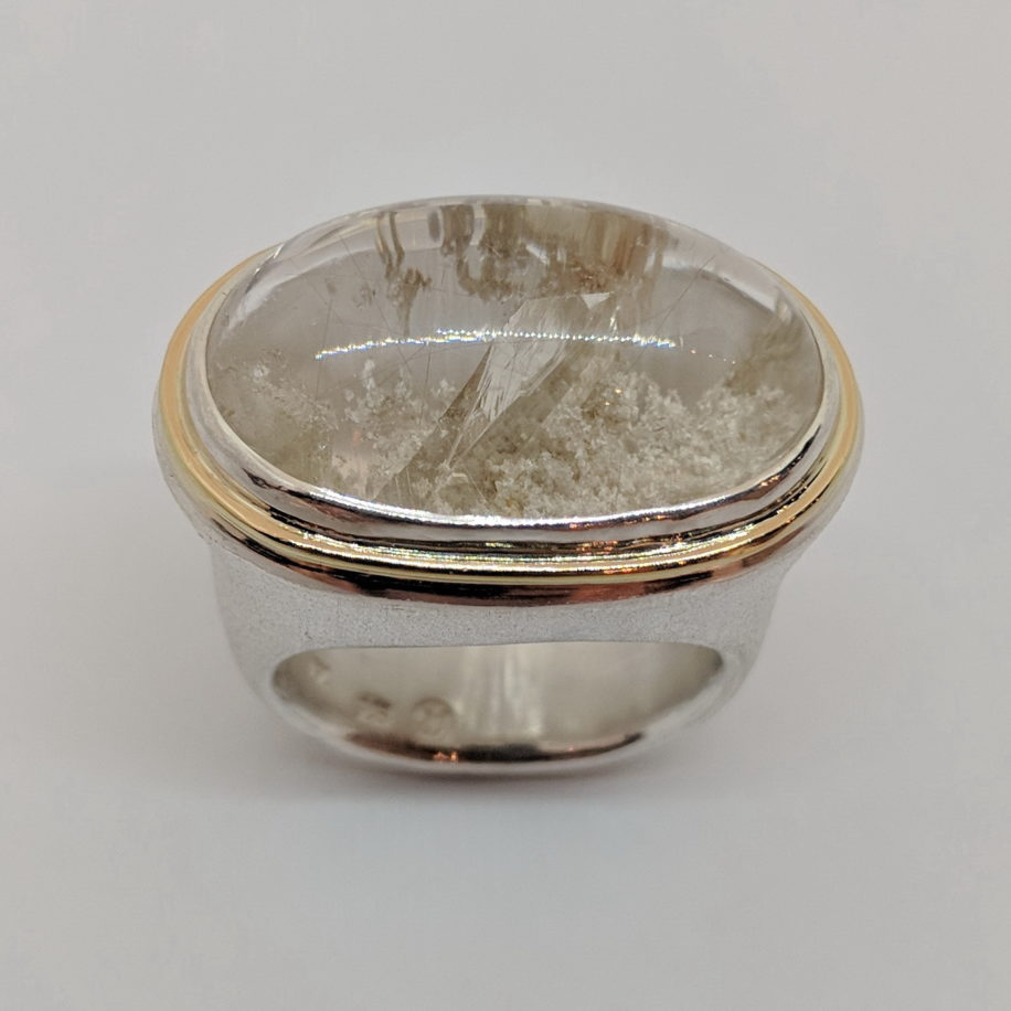 Crystal Cove Ring by Andrea Roberts at The Avenue Gallery, a contemporary fine art gallery in Victoria, BC, Canada