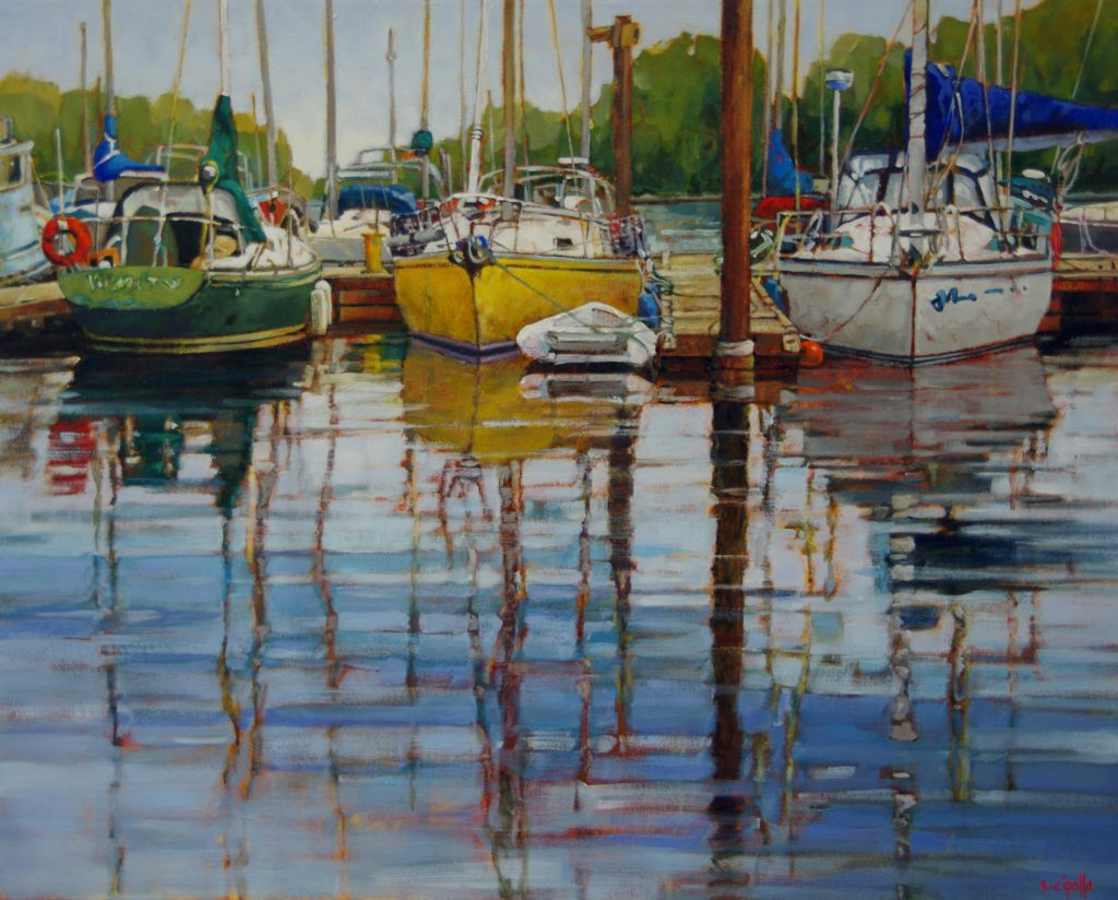 Sunday Morning by Susie Cipolla at The Avenue Gallery, a contemporary fine art gallery in Victoria, BC, Canada