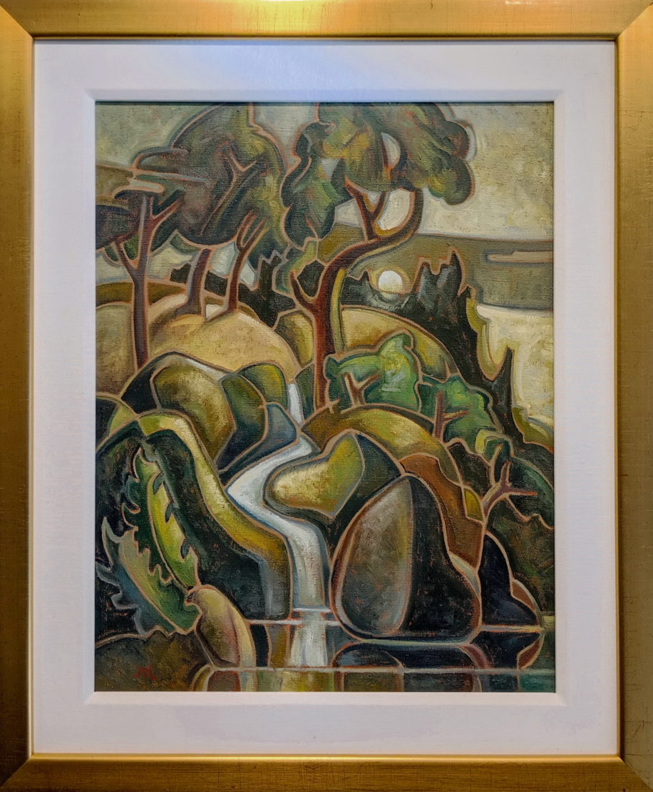 Sandal Creek by Philip Mix at The Avenue Gallery, a contemporary art gallery in Victoria BC., Canada