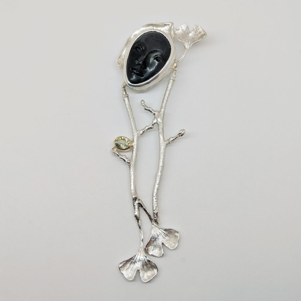 Dreamer Pendant by Andrea Russell at The Avenue Gallery, a contemporary fine art gallery in Victoria, BC, Canada.