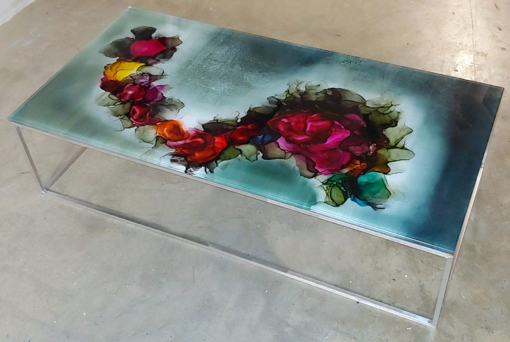 Coffee Table by Gordon Scott at The Avenue Gallery, a contemporary fine art gallery in Victoria, BC, Canada.