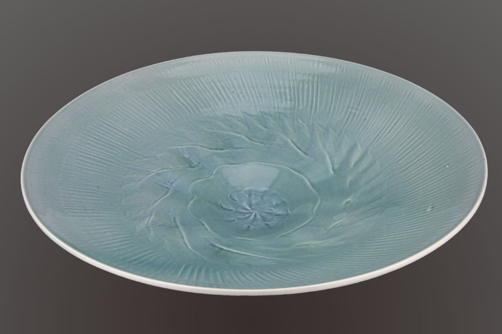 Celadon Translucent Bowl by Derek Kasper at The Avenue Gallery, a contemporary fine art gallery in Victoria, BC, Canada.