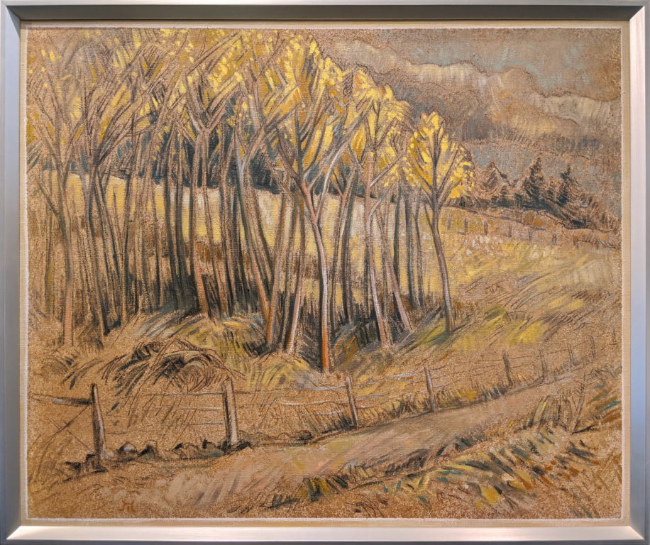 Aspen Copse in Autumn by Philip Mix at The Avenue Gallery, a contemporary fine art gallery in Victoria, BC, Canada.