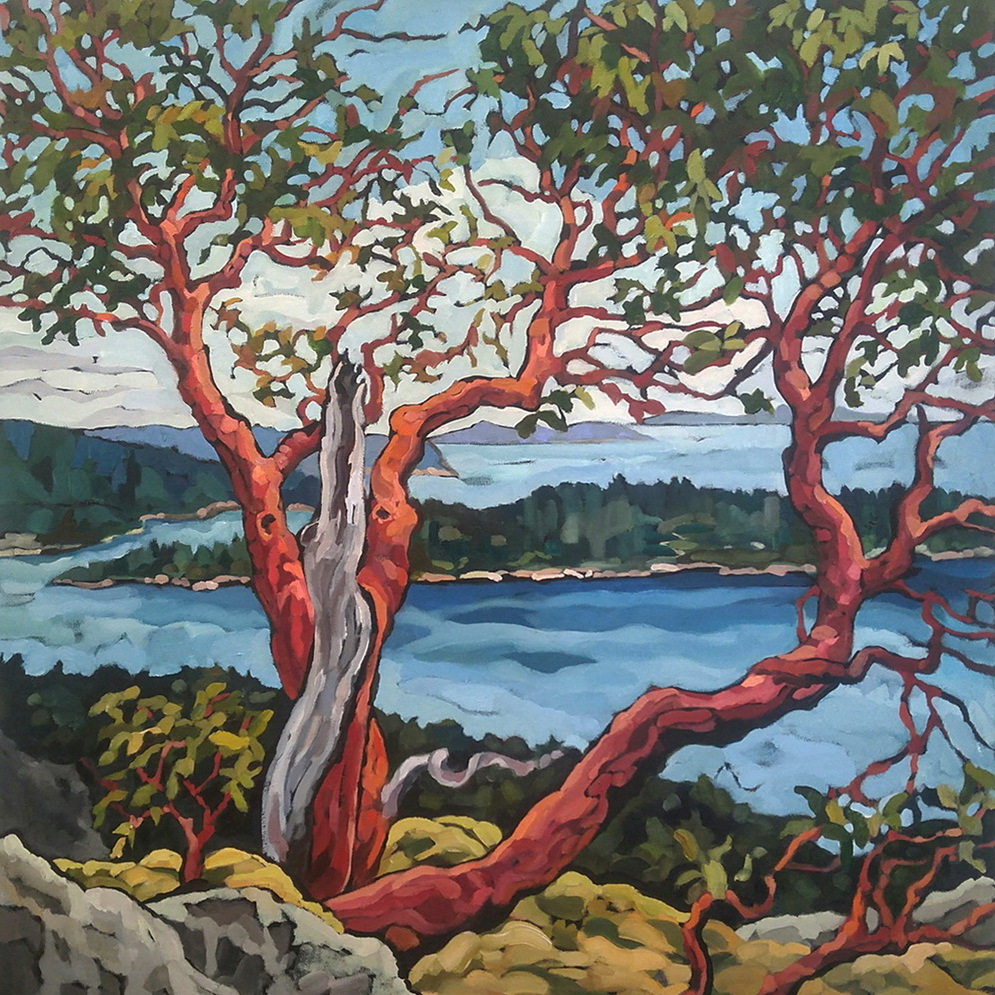 Island View by Mary-Jean Butler at The Avenue Gallery, a contemporary fine art gallery in Victoria, BC, Canada.