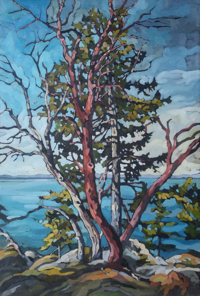 Standing Tall by Mary-Jean Butler at The Avenue Gallery, a contemporary fine art gallery in Victoria, BC, Canada.
