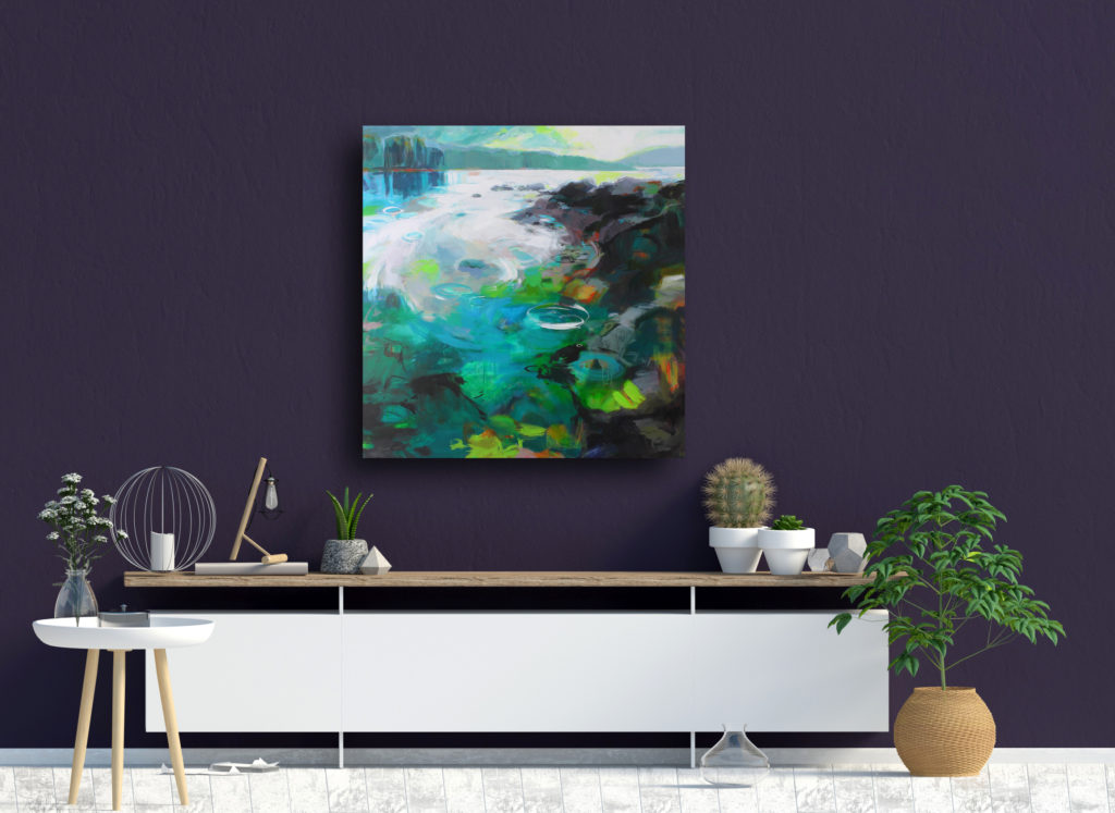 Tidal Pools by Becky Holuk at The Avenue Gallery, a contemporary fine art gallery in Victoria, BC, Canada