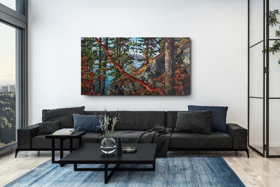 Afternoon Light by Mary-Jean Butler at The Avenue Gallery, a contemporary fine art gallery in Victoria, BC, Canada.