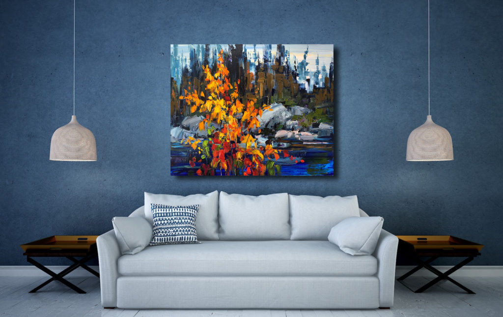 Until We Get There by Kimberly Kiel at The Avenue Gallery, a contemporary fine art gallery in Victoria, BC, Canada.