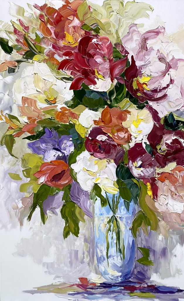 Summer Breeze by Rachelle Brady at The Avenue Gallery, a contemporary fine art gallery in Victoria, BC, Canada